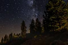 Glacier Point Milky Way
