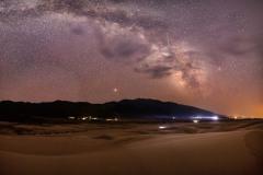 Milky Way, Mars & Meteors over Great Sand Dunes